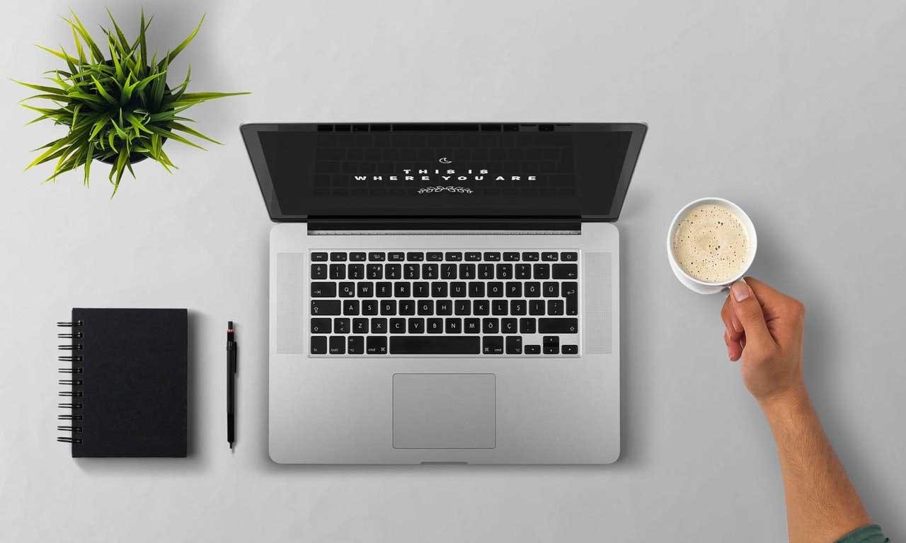 MacBook Pro Minimalizm